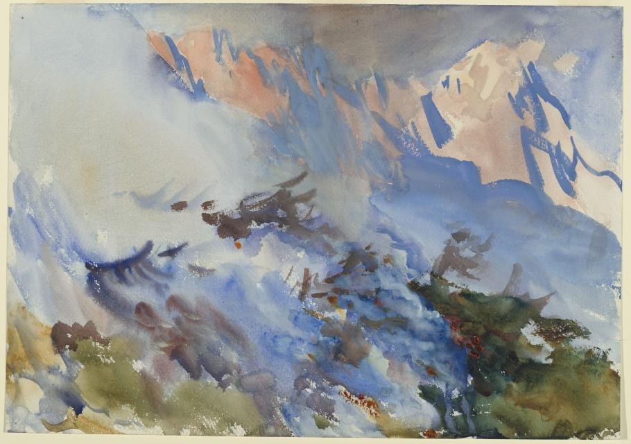 Mountain Fire, circa 1906–7 image
