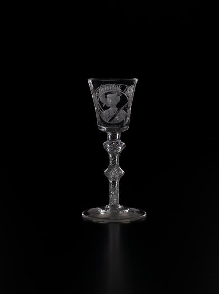 Wine glass (c. 1750)  image
