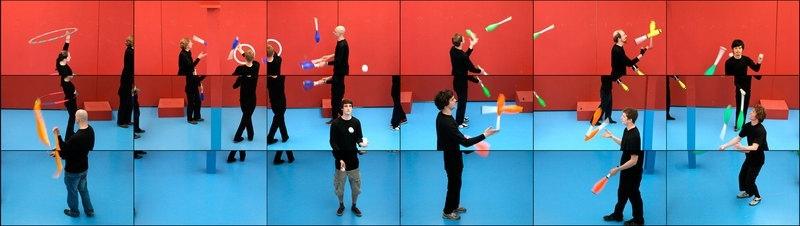 David Hockney: The Jugglers image