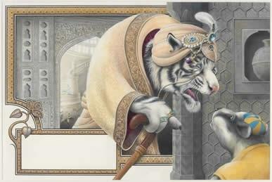 Illustration from Enigma, Viking image