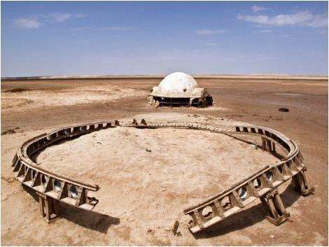 No More Stars (Star Wars) 33°59'39 N 7°50'34 E Chot El-Gharsa image
