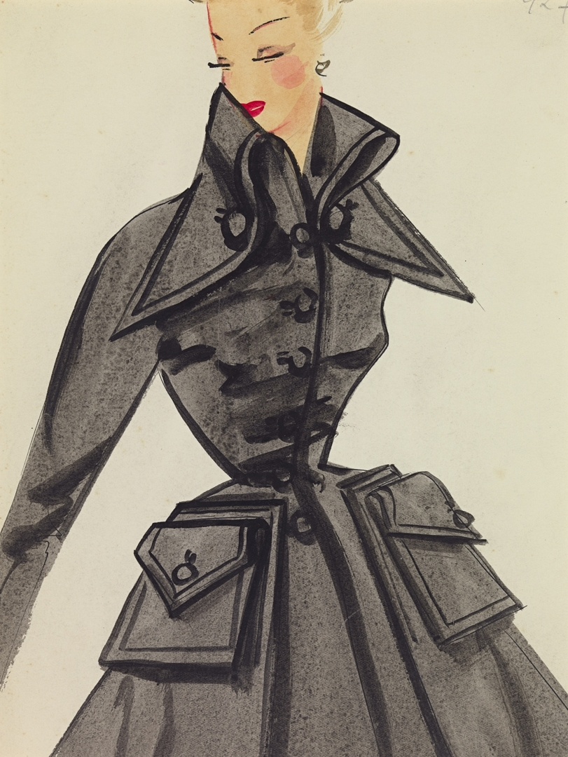 UNKNOWN - JACQUES HEIM, Paris (attributed to) fashion house image
