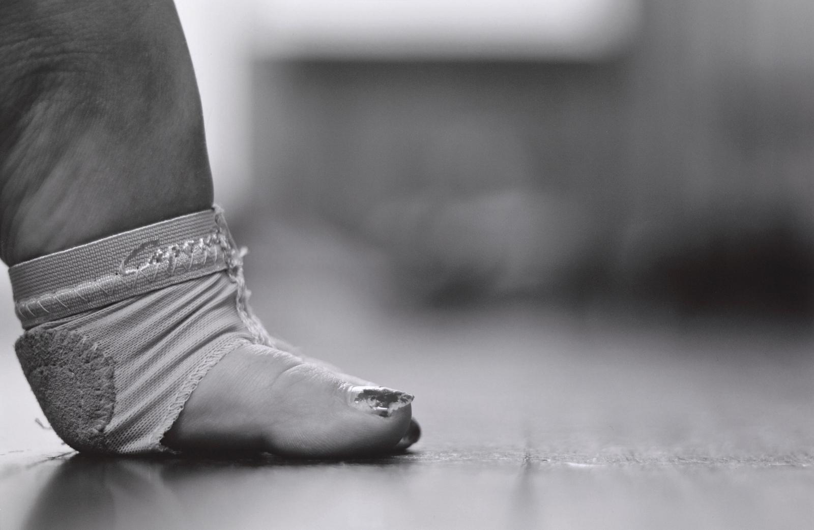 Ball, heel & toe image