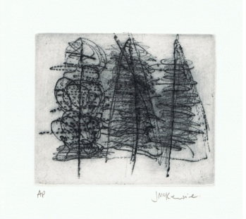 Trees II by Janet McKenzie  image