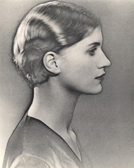 Solarised Portrait of Lee Miller image
