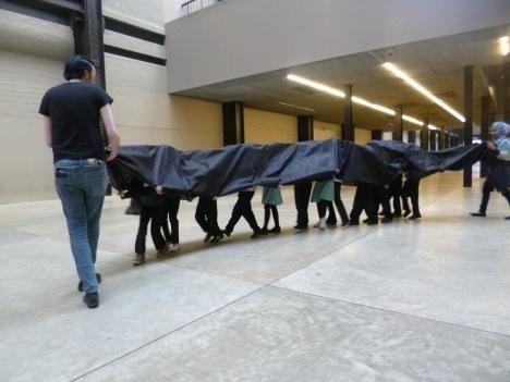 Schools workshop at Tate Modern image