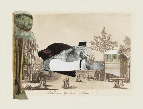 La Figura nella Veduta #4 (Veduta del Giardino Agrario) image