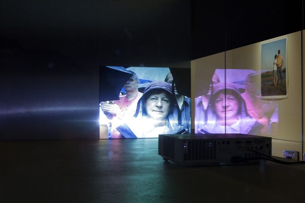 Ghost Citizens: Witnessing the Intervention. Installation shot at Counihan Gallery in Brunswick image