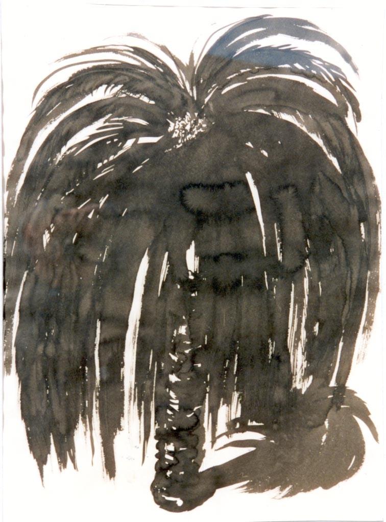 Brett WHITELEY Palm Tree  1991 image