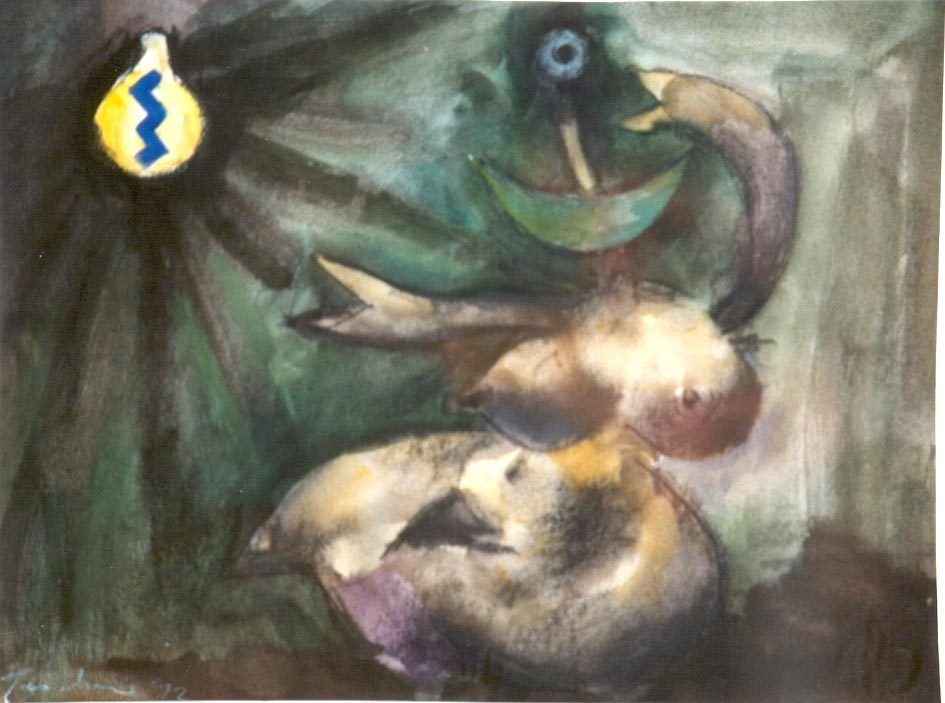 Albert TUCKER Image of Modern Evil   1972 image