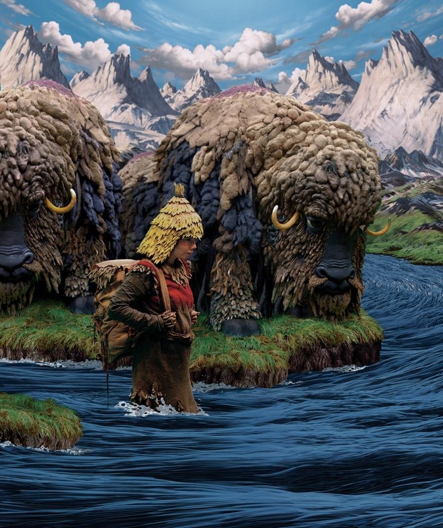 """Björk """"Wanderlust"""" image"""