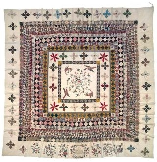 The Rajah quilt 1841 image