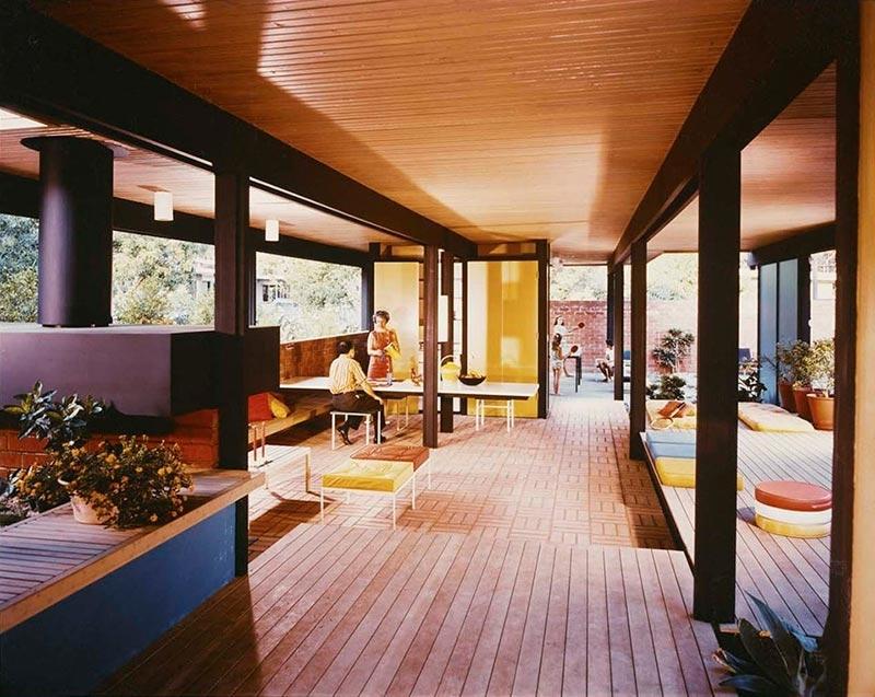 Recreation pavilion, Mirman House, Arcadia image