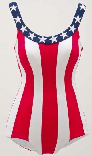 Woman's swimsuit image