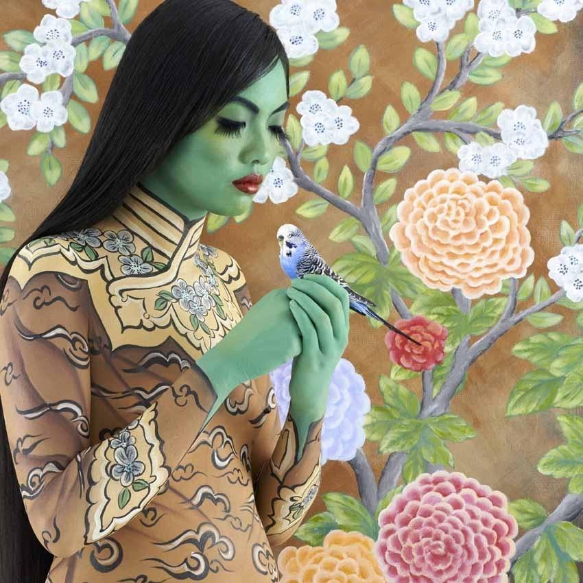 Beautiful Women - The Oriental image