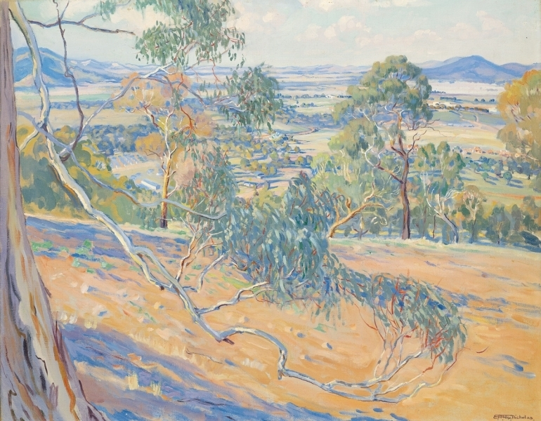 Canberra from Red Hill, 1927 image