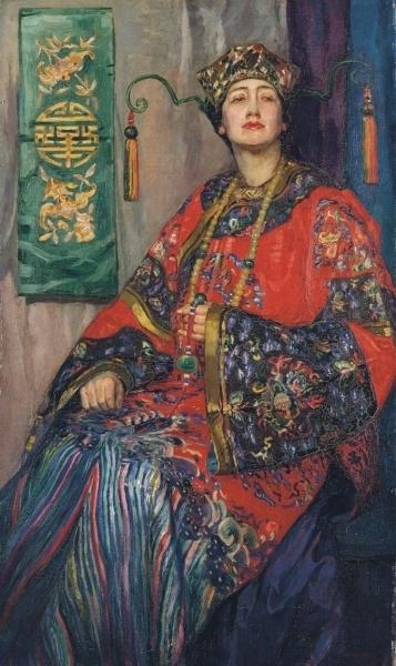 La robe Chinoise, c. 1913 image