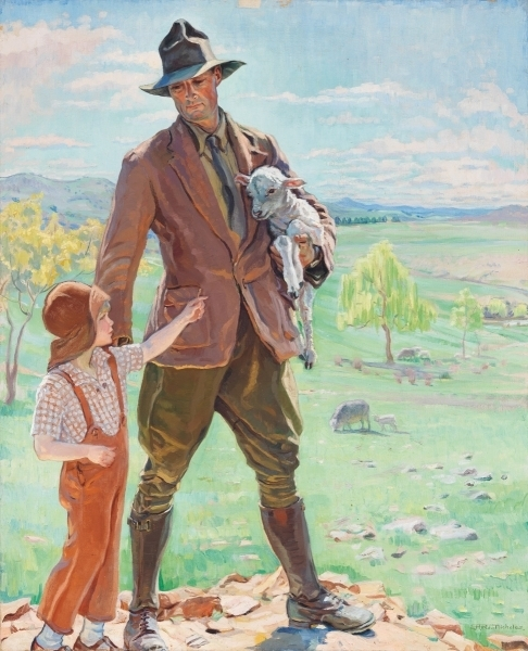 The shepherd of Knockalong, c. 1933 image