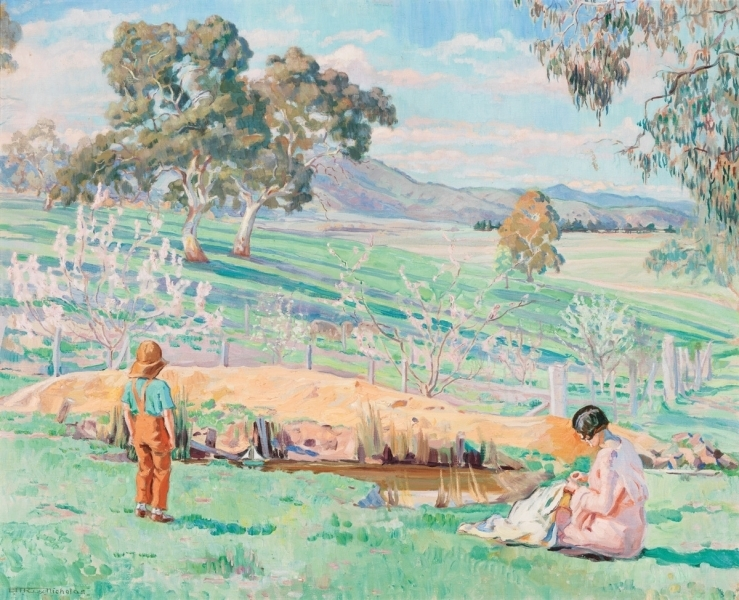 Spring afternoon, Knockalong, c. 1933 image