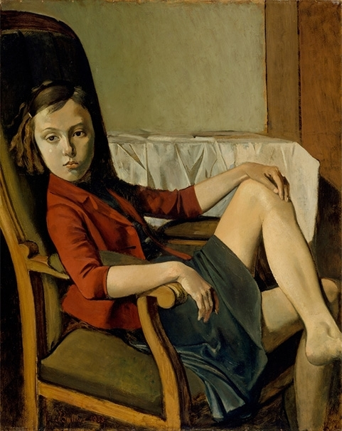 Balthus Cats and Girls—Paintings and Provocations image