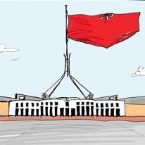 Budgie smuggler flag image