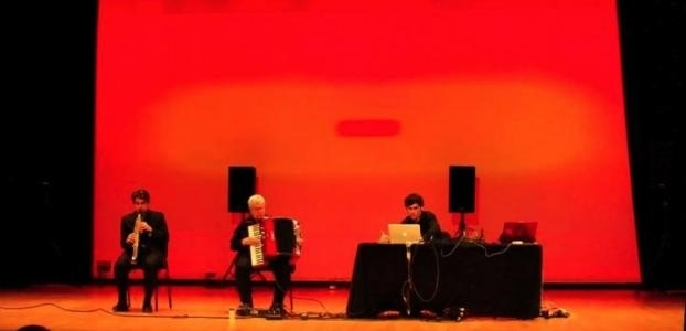 Merging Artificial Intelligence and Free Improvisation with Triple Point (Pauline Oliveros, Doug van Nort, and Jonas Bra image