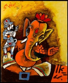 M.F. Husain: Master of Modern Indian Painting image