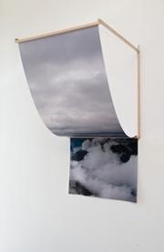 Andrew Tetzlaff, Gravity Interrogation II 2012 Digital print, oak. Dimensions variable  image