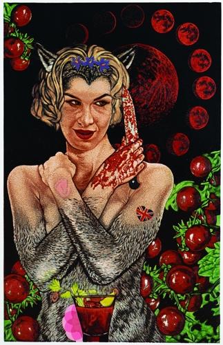 Jazmina Cininas: Each full moon Sandie craves a Bloody Mary (2013) image
