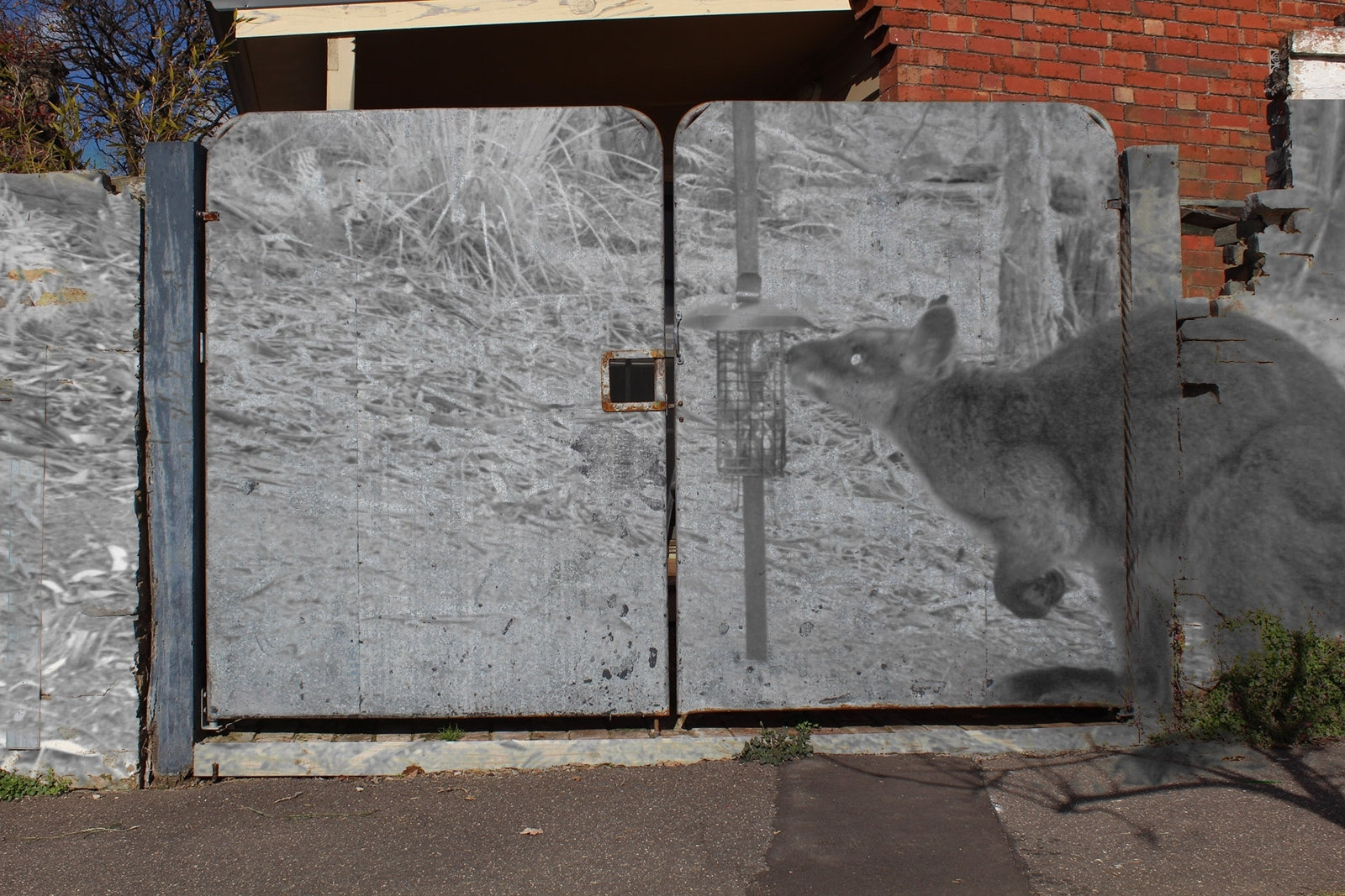 At the Wall of Anthropocene image
