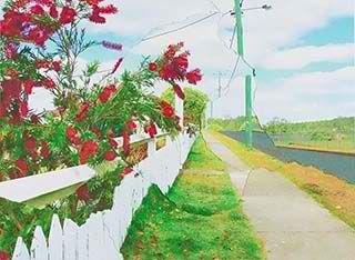 Picturesque Cherbourg No 1 (detail) (from 'Spirit Landscapes' series) image