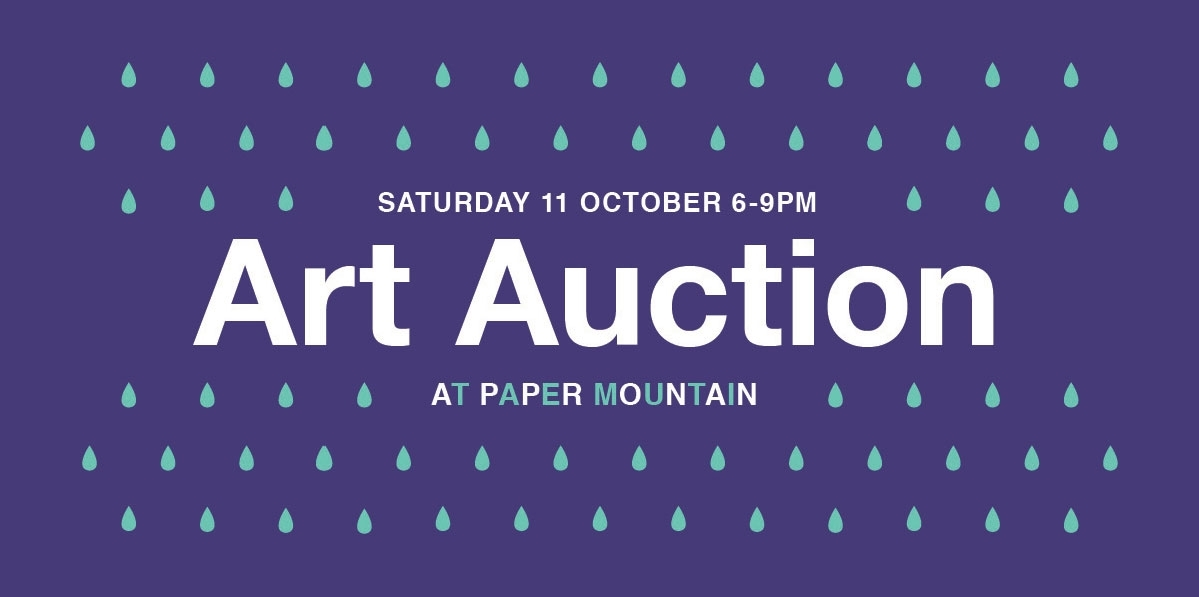 Paper Mountain Art Auction image