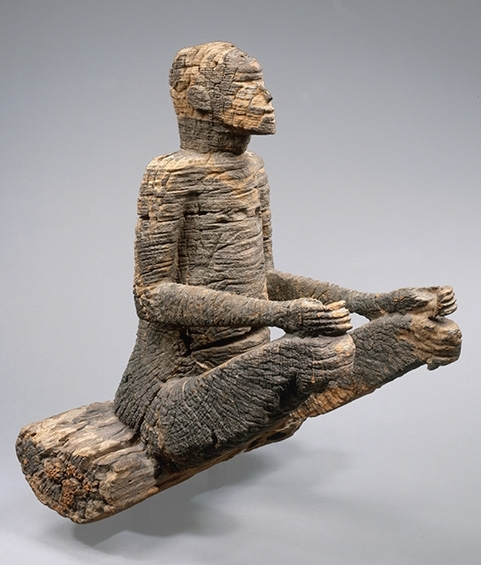 Seated figure image