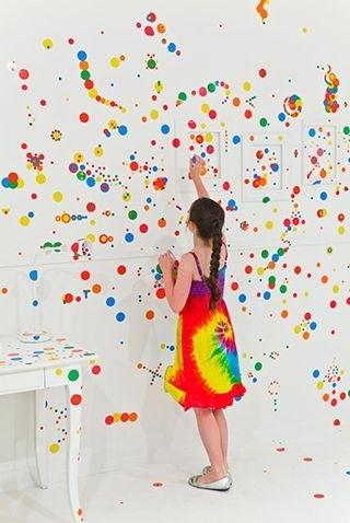 Yayoi Kusama The obliteration room image
