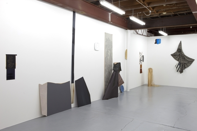 Installation view, left side image