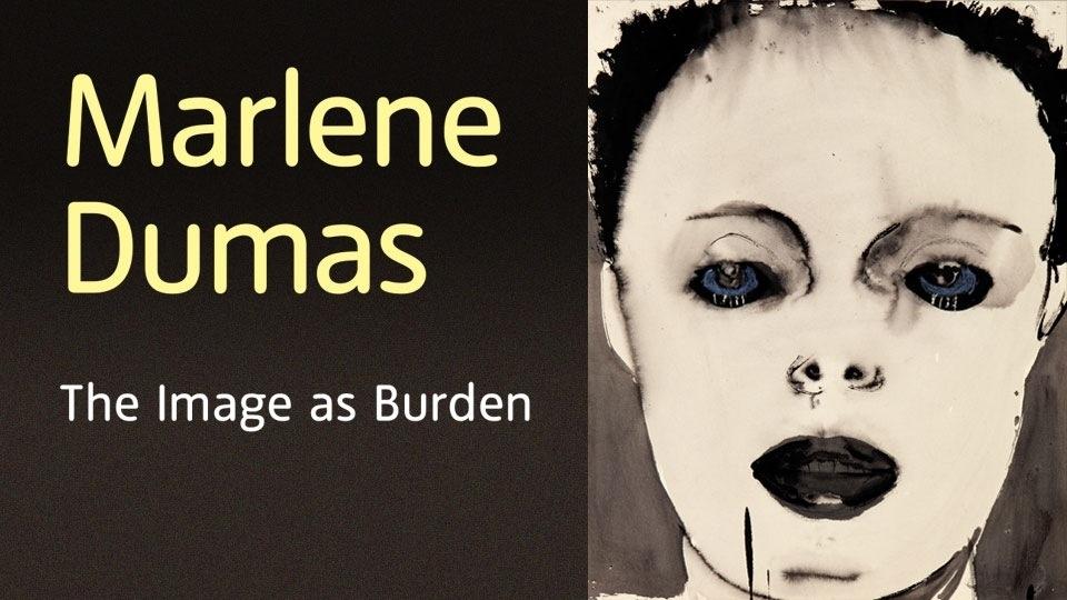 Marlene Dumas: The Image as Burden image
