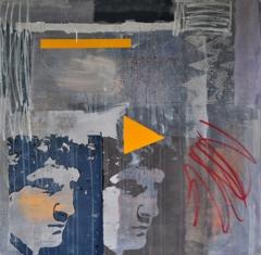 Peter Quarry, Identigram #1, 2014, acrylic on canvas, 100 x 100cm image