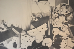 Courtney Price, Leave Behind For Me #3, 2014, graphite on paper, 76 x 112cm. image