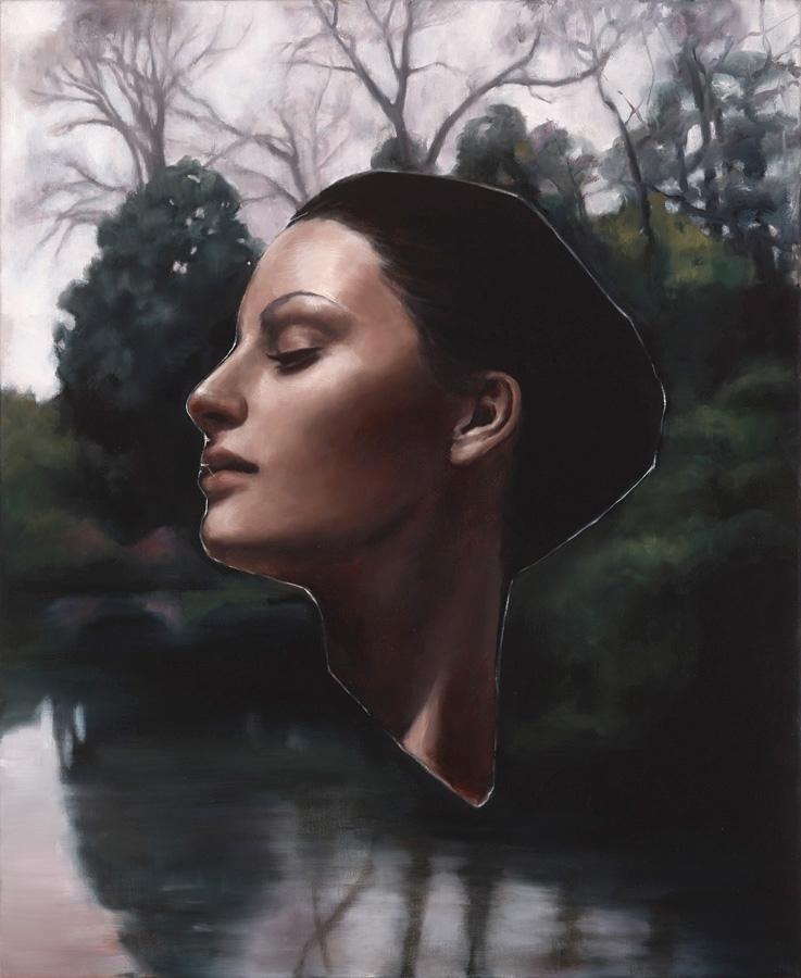 Heidi Yardley. Lorando (Glass Psyche Series) 2013. Oil on linen, 75 x 65 cm image