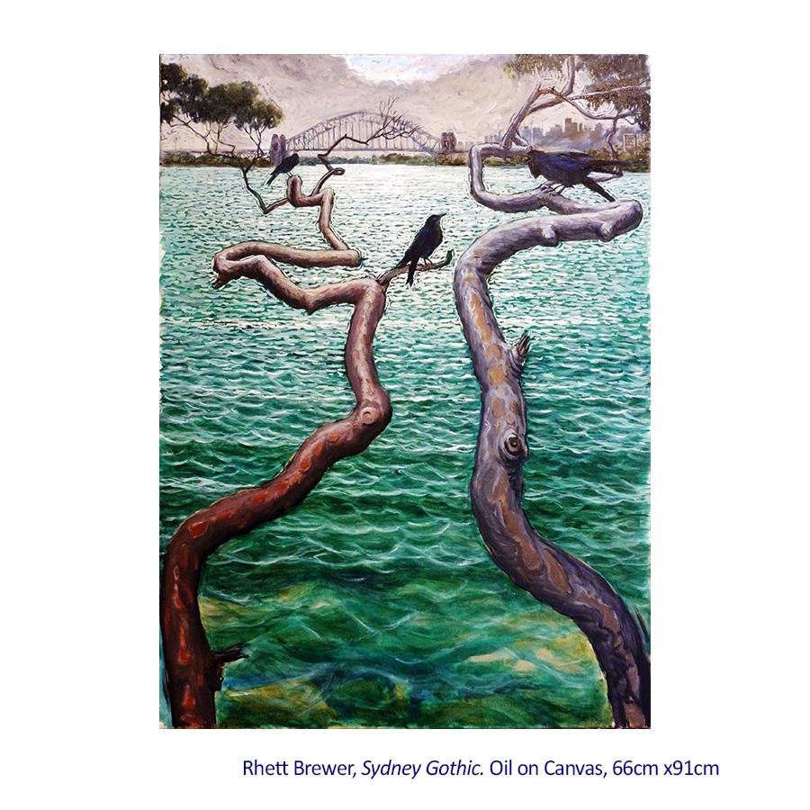 Rhett Brewer Paintings image