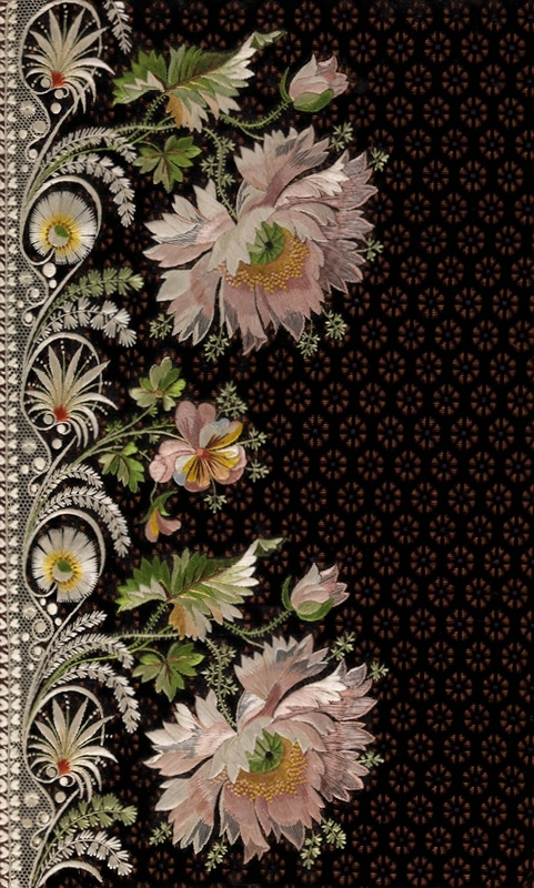 Elaborate Embroidery: Fabrics for Menswear before 1815  image