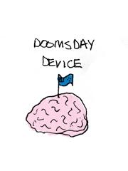 Sam Davis, Doomsday Device, 2014, pen on paper image