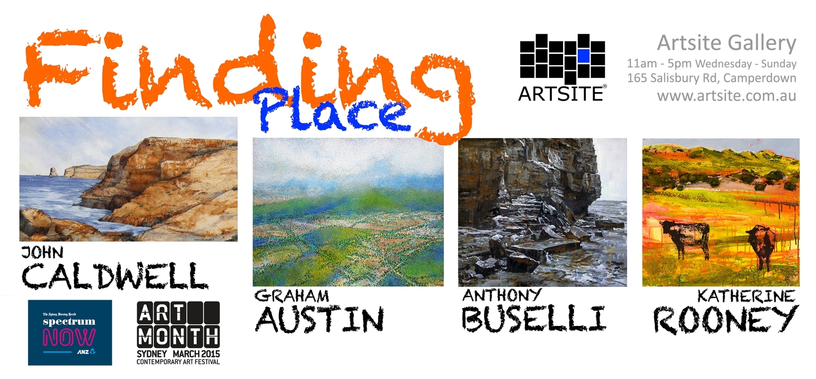 Finding Place at Artsite Gallery image