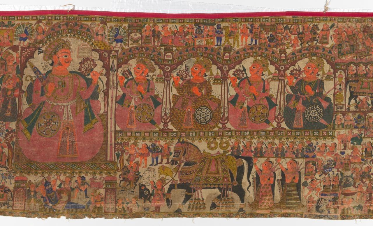 Storyteller's cloth  image