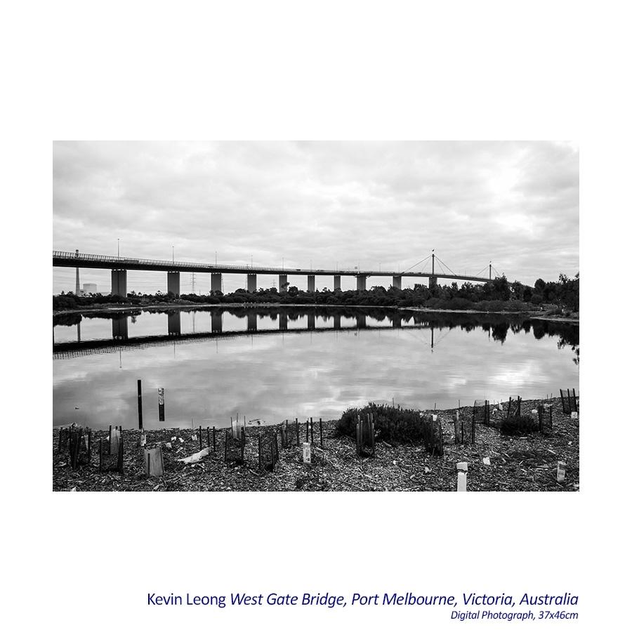 West Gate Bridge, Port Melbourne, Victoria, Australia image