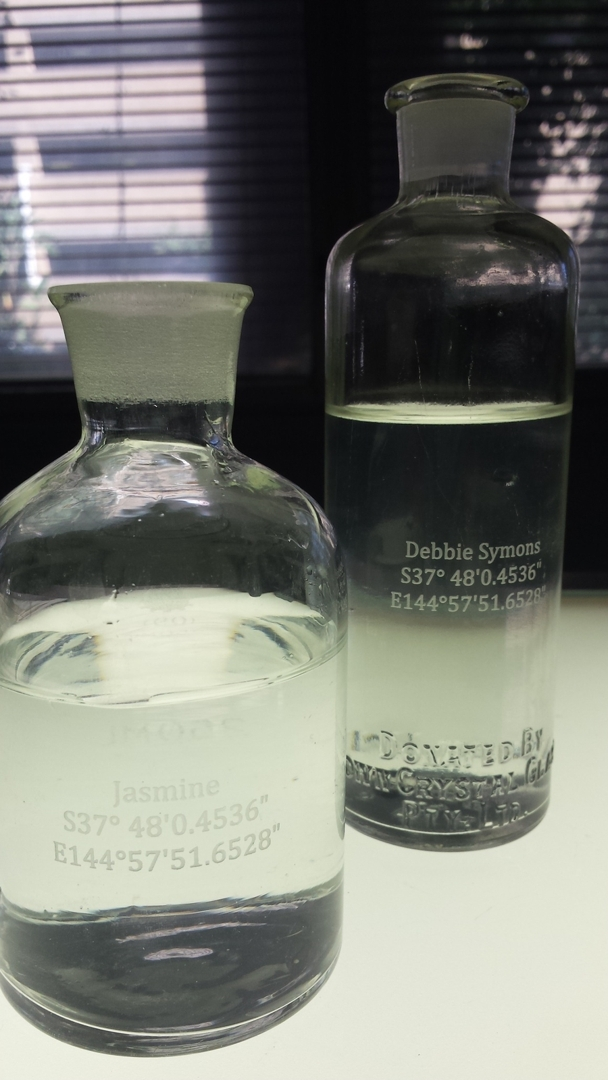 The Water Harvest - bottles  image
