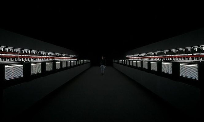 Ryoji Ikeda And The Vinyl Factory Present Supersymmetry At Brewer Street Car Park image