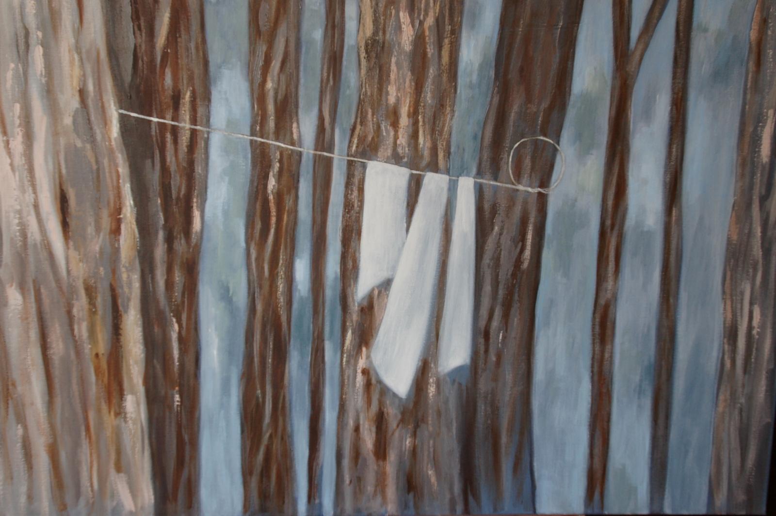 Roz Esplin, Mercy, 2009, acrylic on canvas, 122.5cm x 97cm image
