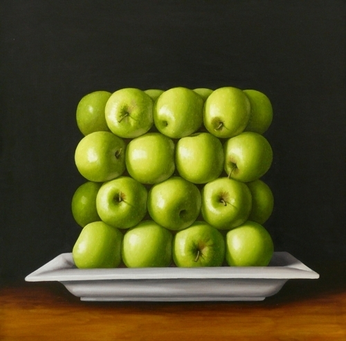 Green Square Apples image