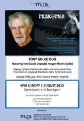 Music@MGA - Tony Gould Duo image